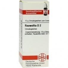 RAUWOLFIA D 2 Globuli 10 g