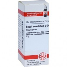 SABAL SERRULATUM D 30 Globuli 10 g
