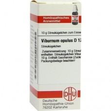 VIBURNUM OPULUS D 12 Globuli 10 g