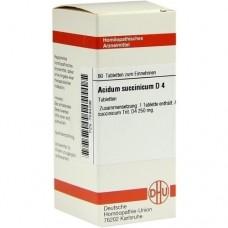 ACIDUM SUCCINICUM D 4 Tabletten 80 St