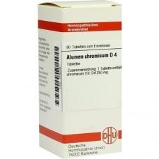 ALUMEN CHROMICUM D 4 Tabletten 80 St