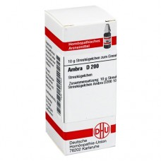 AMBRA D 200 Globuli 10 g
