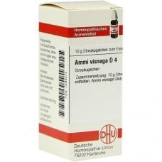 AMMI VISNAGA D 4 Globuli 10 g
