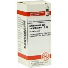 ANTIMONIUM SULFURATUM aurantiacum C 30 Globuli 10 g
