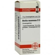 ARALIA RACEMOSA D 30 Globuli 10 g