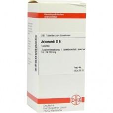 JABORANDI D 6 Tabletten 200 St