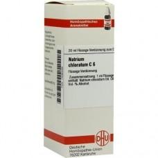 NATRIUM CHLORATUM C 6 Dilution 20 ml