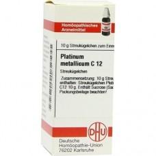 PLATINUM METALLICUM C 12 Globuli 10 g
