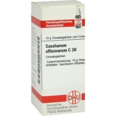 SACCHARUM OFFICINARUM C 30 Globuli 10 g