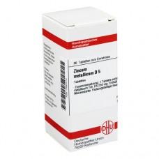 ZINCUM METALLICUM D 5 Tabletten 80 St