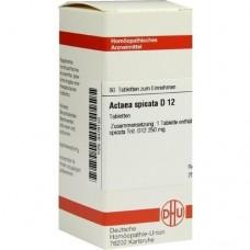 ACTAEA SPICATA D 12 Tabletten 80 St