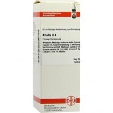 ALFALFA D 4 Dilution 50 ml