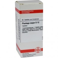 PLANTAGO MAJOR D 12 Tabletten 80 St