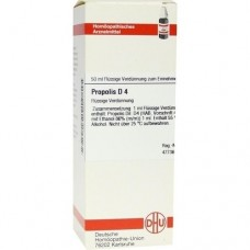 PROPOLIS D 4 Dilution 50 ml