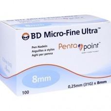 BD MICRO-FINE ULTRA Pen-Nadeln 0,25x8 mm 100 St