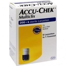 ACCU CHEK Multiclix Lanzetten 204 St