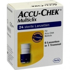 ACCU CHEK Multiclix Lanzetten 24 St