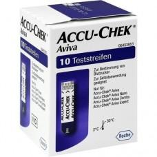ACCU CHEK Aviva Teststreifen Plasma II 1X10 St