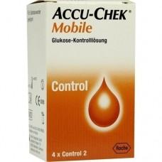 ACCU CHEK Mobile Kontrolllösung 4 Einmalapplikat. 1X4 St