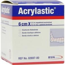 ACRYLASTIC 6 cmx2,5 m Binden 1 St