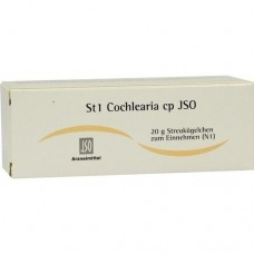 JSO JKH STOFFW.-MITTEL St 1 Cochlearia cp Globuli 20 g