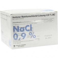 ISOTONE NaCl Lösung 0,9% BC Plast.Amp.Inj.-Lsg. 20X10 ml
