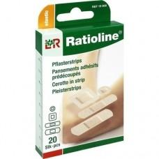 RATIOLINE elastic Pflasterstrips in 4 Größen 20 St