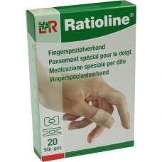 RATIOLINE elastic Fingerspezialverb.in 2 Größen 20 St