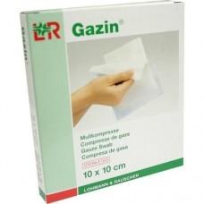 GAZIN Mullkomp.10x10 cm steril 8fach 5X2 St