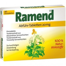 RAMEND Abführtabletten 20 St