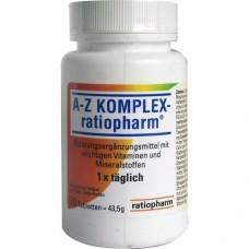 A-Z KOMPLEX ratiopharm Tabletten 30 St