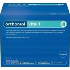 ORTHOMOL Vital F Grapefruit Granulat/Kaps. 30 St