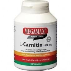 MEGAMAX L Carnitin 1000 mg Tabletten 120 St