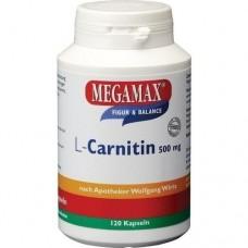 L-CARNITIN 500 mg Megamax Kapseln 120 St