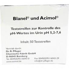 TESTSTREIFENHEFT z.Bestimmung d.Urin ph Wertes 50 St