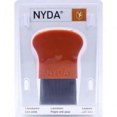 NYDA Läuse- und Nissenkamm Metall 1 St