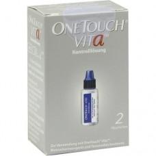 ONE TOUCH Vita Kontrolllösung normal 2X3.75 ml