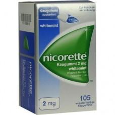 NICORETTE Kaugummi 2 mg whitemint 105 St