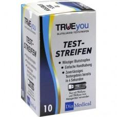 TRUEYOU Blutzucker Teststreifen 10 St