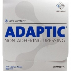 ADAPTIC 7,6x7,6 cm feuchte Wundauflage 2012Z 10 St