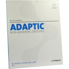 ADAPTIC 12,7x22,9 cm feuchte Wundauflage 12 St