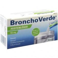 BRONCHOVERDE Hustenlöser 50 mg Granulat 10 St