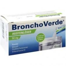 BRONCHOVERDE Hustenlöser 50 mg Granulat 20 St