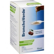BRONCHOVERDE Hustensaft 100 ml