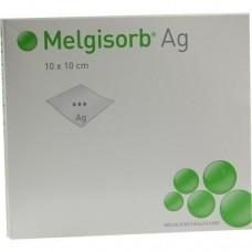 MELGISORB Ag Verband 10x10 cm 10 St