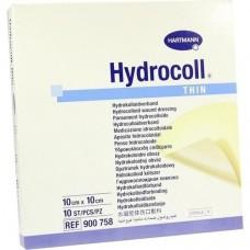 HYDROCOLL thin Wundverband 10x10 cm 10 St