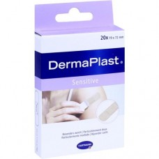 DERMAPLAST sensitive Pflasterstrips 19x72 mm 20 St