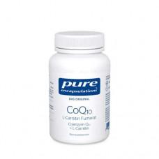 PURE ENCAPSULATIONS CoQ10 L Carnitin Fumar.Kps. 60 St