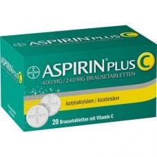 ASPIRIN plus C Brausetabletten 20 St