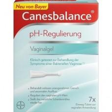 CANESBALANCE pH-Regulierung Vaginalgel 7X5 ml